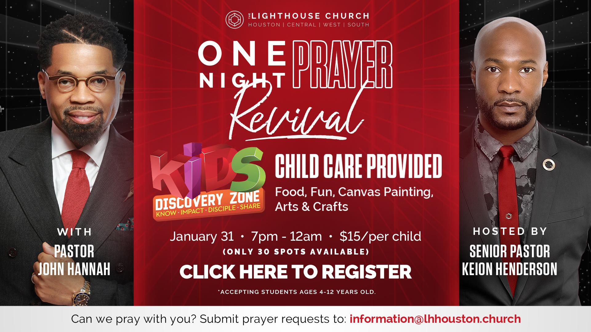 One Night Prayer